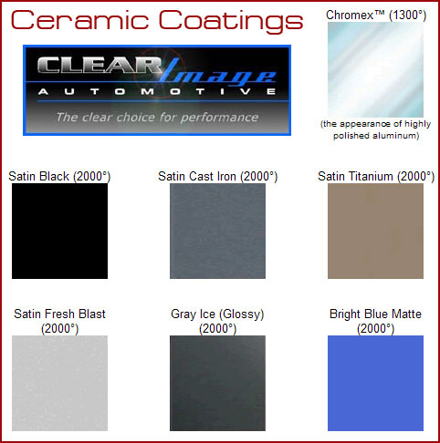 Ceramic Exhaust Coatings