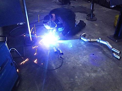 High Performance Exhaust Systems - Custom Metal Fabrication